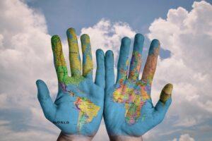 ziemia my to jedność planeta ekologia w naszych rękach